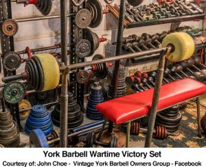 York Barbell Wartime Victory Set
