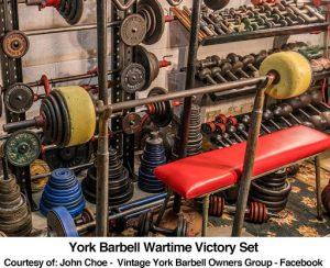 York Barbell Wartime Victory Set
